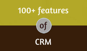 100 plus features of CRM